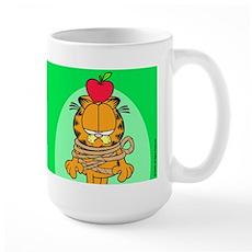 Teach 'em Garfield Large Mug