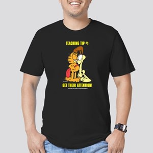 Get Their Attention, Garfield Men's Fitted T-Shirt