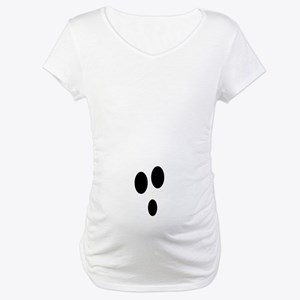 Ghost Maternity Halloween T-shirt