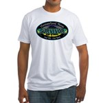 Survivor Mom Fitted T-Shirt
