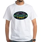 Survivor Mom White T-Shirt