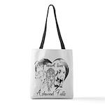 Heart Lives In Ashwood Polyester Tote Bag