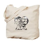 Heart Lives In Ashwood Tote Bag