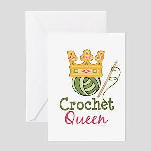 Crochet Queen Greeting Card