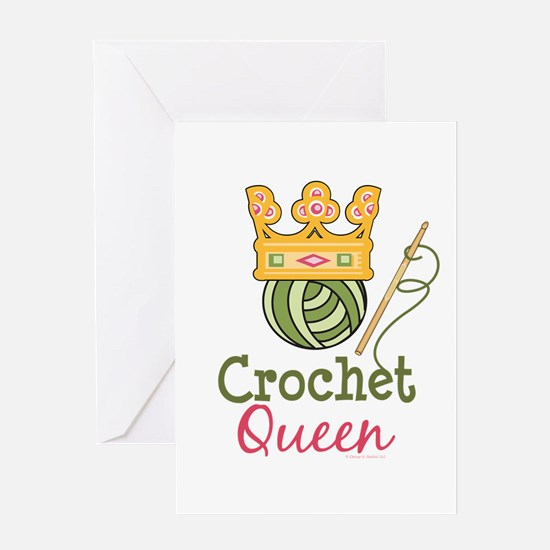 Crochet Queen Greeting Card
