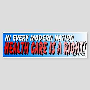 Modern Nation Bumper Sticker