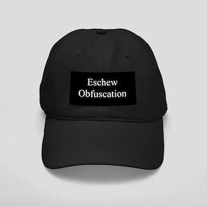 Eschew Obfuscation Black Cap