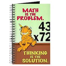 Math Problem Garfield Journal