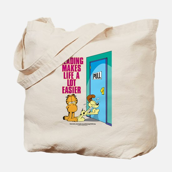 Reading Makes Life Easier Tote Bag