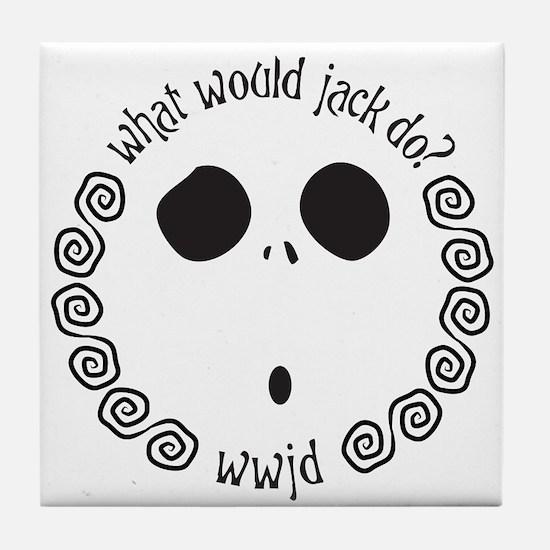 Cute Would Tile Coaster