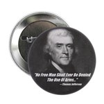 """The Use Of Arms... 2.25"""" Button (10 pack)"""