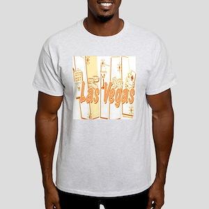 Las Vegas Retro Abstract Light T-Shirt