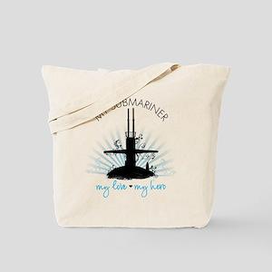 My Submariner My Love Tote Bag