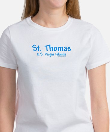 St. Thomas USVI - Women's T-Shirt