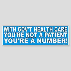 Not a patient (sticker)
