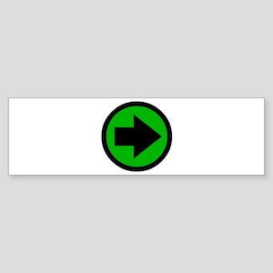 Arrow Bumper Sticker