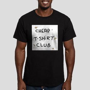 CUSTOM LETTERING Men's Fitted T-Shirt (dark)