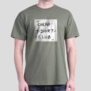 CUSTOM LETTERING Dark T-Shirt