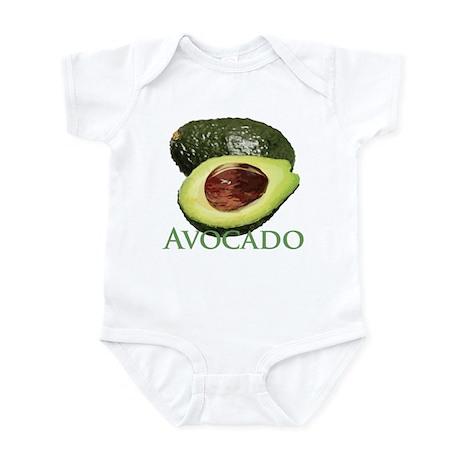 Avocado and Half Infant Bodysuit