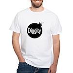 [Bomb] Diggity White T-Shirt