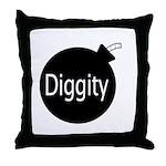 [Bomb] Diggity Throw Pillow