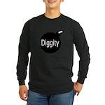 [Bomb] Diggity Long Sleeve Dark T-Shirt