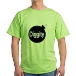 [Bomb] Diggity Green T-Shirt