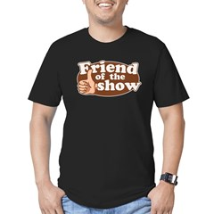 Friend of the Show Men's Fitted T-Shirt (dark)