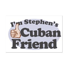 Stephen's Cuban Friend Mini Poster Print