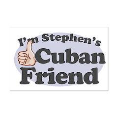 Stephen's Cuban Friend Mini Poster Print