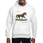 Hanoverian Sport Horse Hooded Sweatshirt