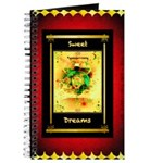 Sweet Dreams Spirit Journal Gold