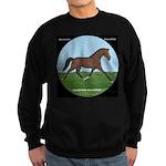 Hanoverian Sport Horse Sweatshirt (dark)