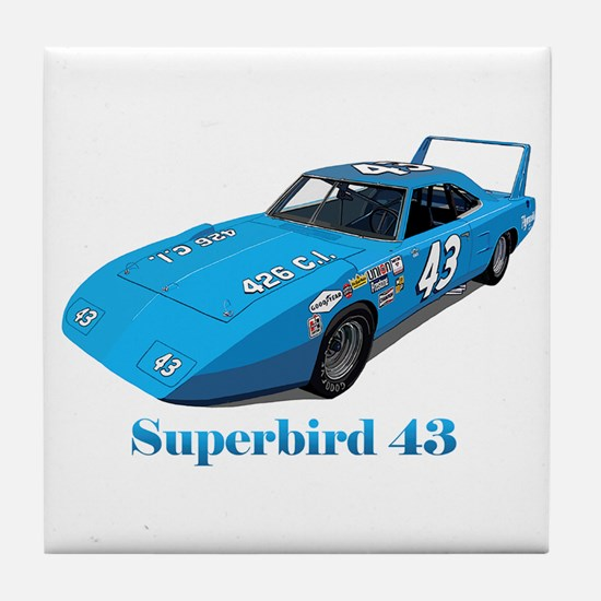 Funny Richard petty plymouth Tile Coaster