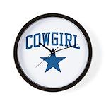Cowgirl Wall Clock