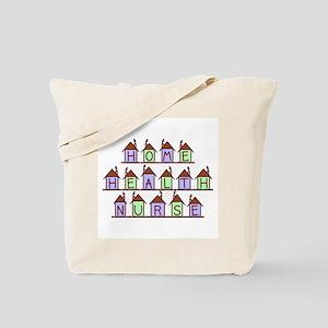 Home Health Nurse Houses Tote Bag