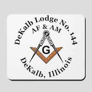 Masonic Lodge Mousepad