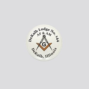 Masonic Lodge Mini Button