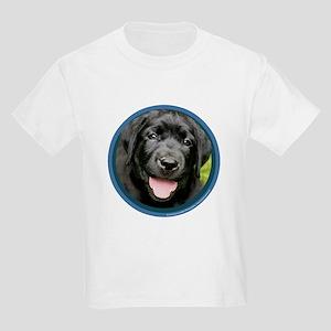 Black Lab Puppy Kids Light T-Shirt