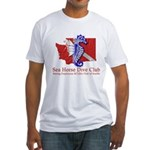Club Logo Fitted T-Shirt