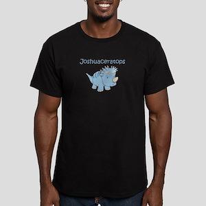 Joshuaceratops Men's Fitted T-Shirt (dark)