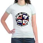 MOBILE MINE ASSEMBLY GROUP Jr. Ringer T-Shirt