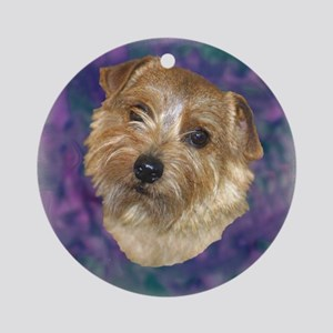 """Norfolk Terrier """"Sassy"""" Ornament (Round)"""