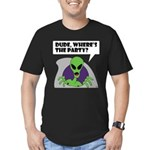 ALIENS and UFO's #2 Men's Fitted T-Shirt (dark)