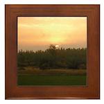 Sunrise 0124 Framed Tile