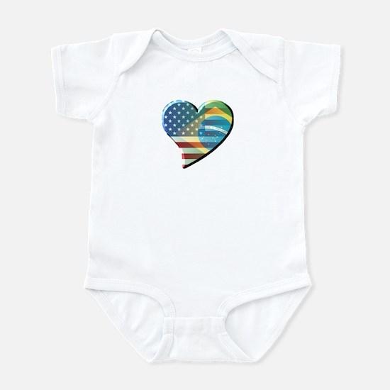 Meu Coracao Infant Bodysuit
