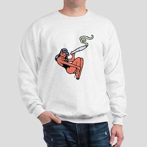 Dev's Weed Sweatshirt
