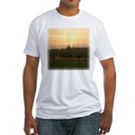 Sunrise 0124 Fitted T-Shirt