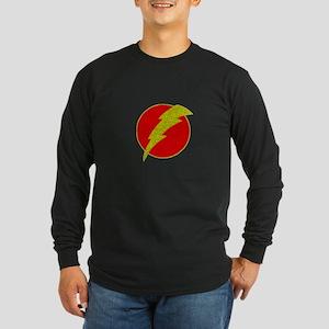 Flash Bolt Superhero Long Sleeve T-Shirt
