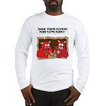 MONSTER eat CLOWNS Long Sleeve T-Shirt